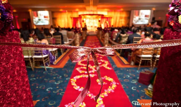 Indian wedding floral and decor ideas for ceremony.