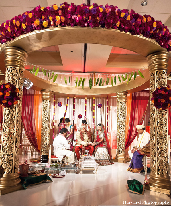 Majestic Indian Wedding Ceremony by Harvard Photography, Anaheim