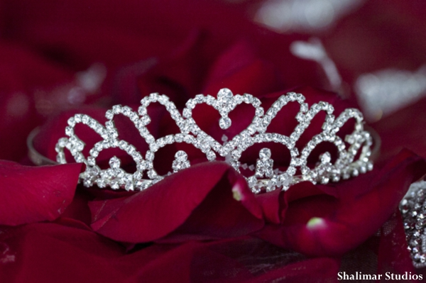 Indian wedding bridal tiara