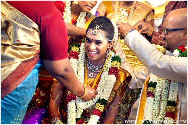 South Indian bride and indian wedding ceremony