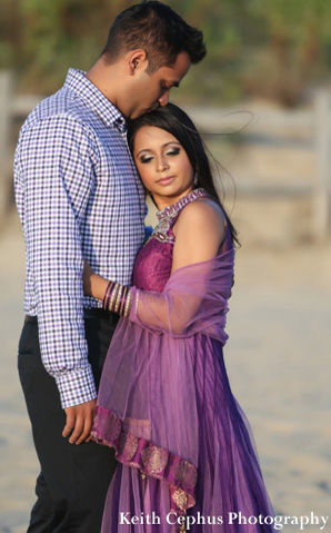 indian-wedding-engagement-couple-beach-portrait