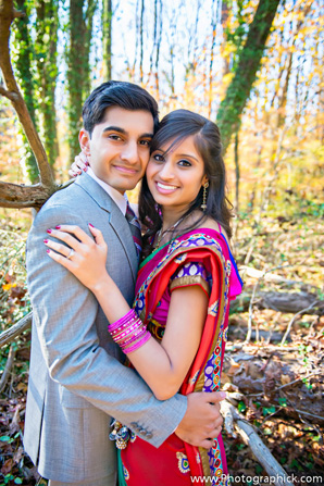 Indian wedding engagement photo ideas for indian bride and groom