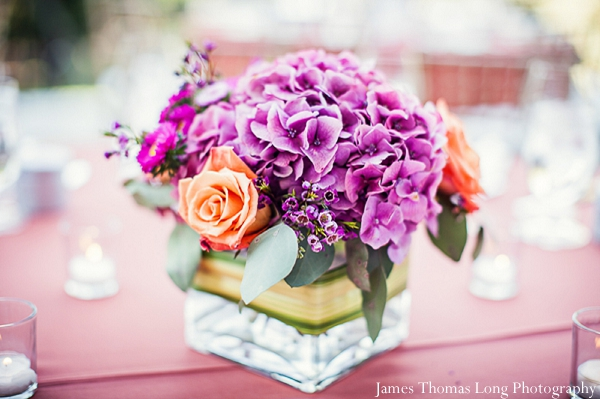 Ideas for indian wedding floral centerpieces.