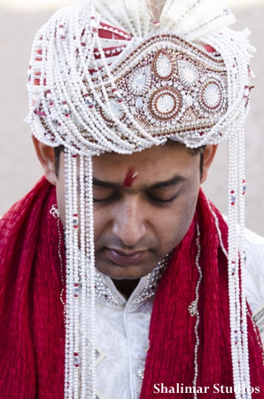 Indian wedding photographer captures an indian groom