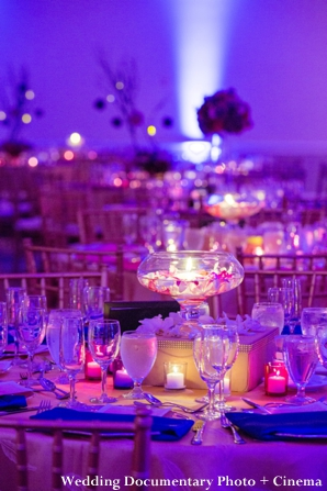 Indian wedding lighting and centerpiece ideas