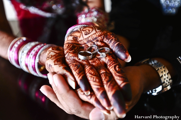 Indian bridal mehndi, also known as bridal henna for an indian bride