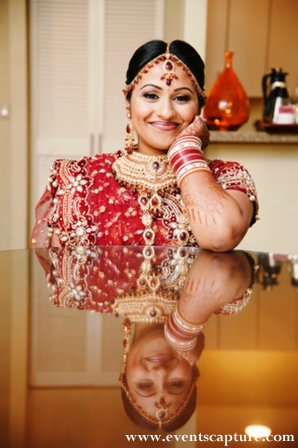 Indian bridal makeup and bridal jewelry ideas for indian bride