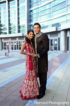 Stylish Indian Wedding Portraits By Harvard Photography