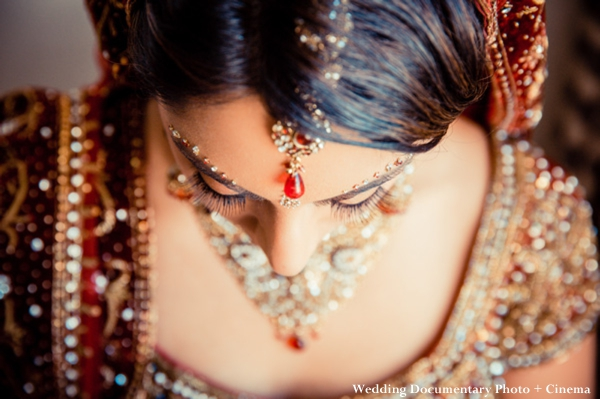 Traditional indian bridal jewelry set for indian wedding ceremony