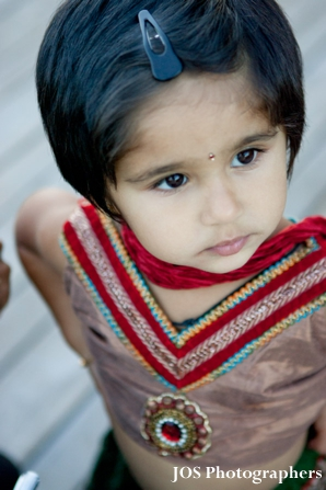 Indian wedding flower girl in indian wedding photography
