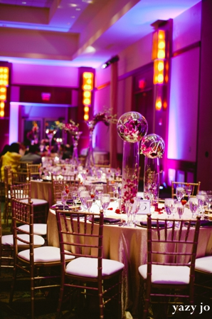 indian wedding ideas for floral and decor and lighting of reception