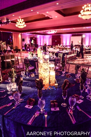 Centerpieces for indian wedding decor