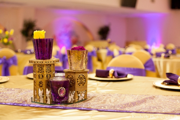 decor for indian wedding reception or engagement party