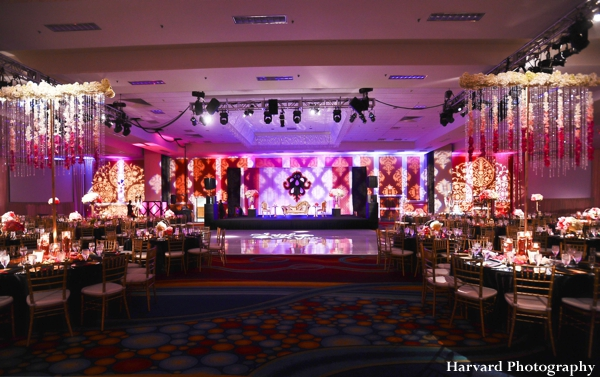 indian wedding reception for indian bride and groom