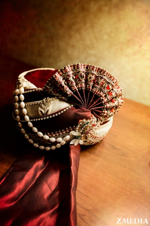 Indian groom's turban for indian wedding ceremony
