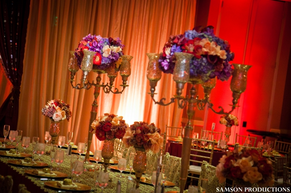 tablesetting and centerpiece floral and decor ideas for wedding reception tables.