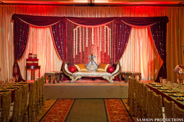 Pakistani Wedding Reception Fit For Royalty By Samson Productions Newport Beach California