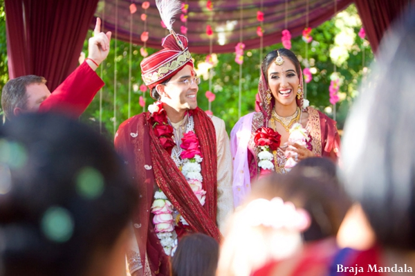 indian-wedding-bride-groom-just-married-ceremony